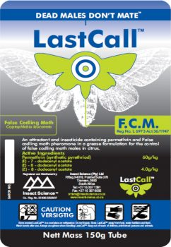 LastCall False Codling Moth